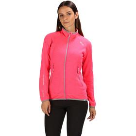 Regatta Harva Giacca Donna, neon pink/rock grey